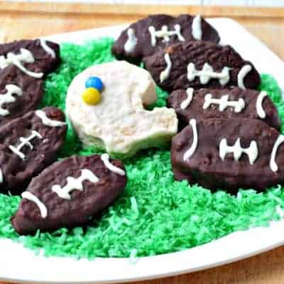 Chocolate Covered Football Krispies