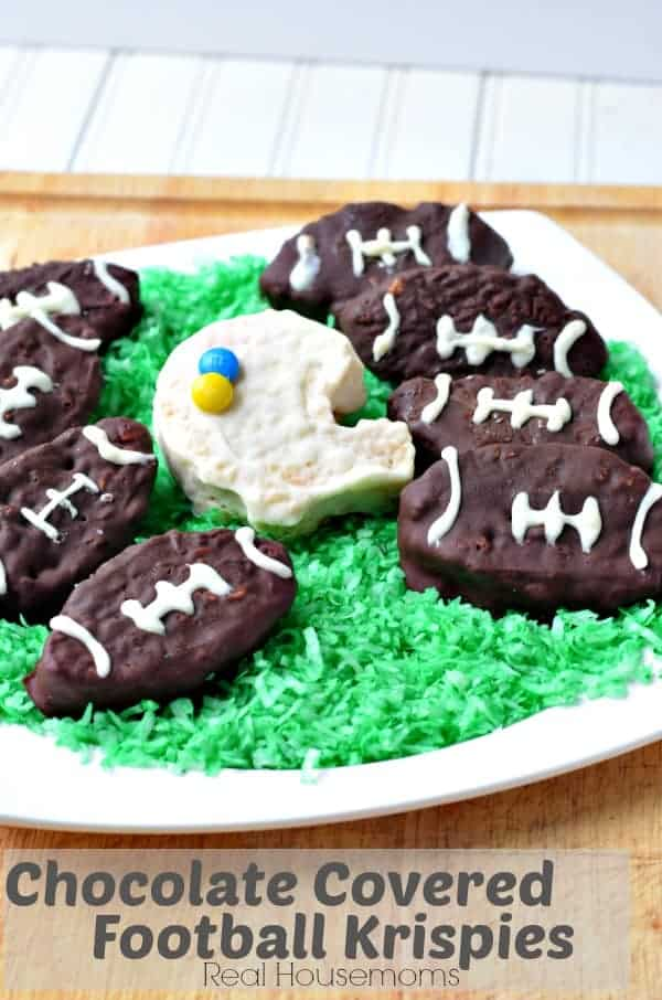 Chocolate Covered Football Krispies_Real Housemoms