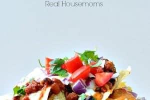 Macho Taco Chili Nachos Real Housemoms
