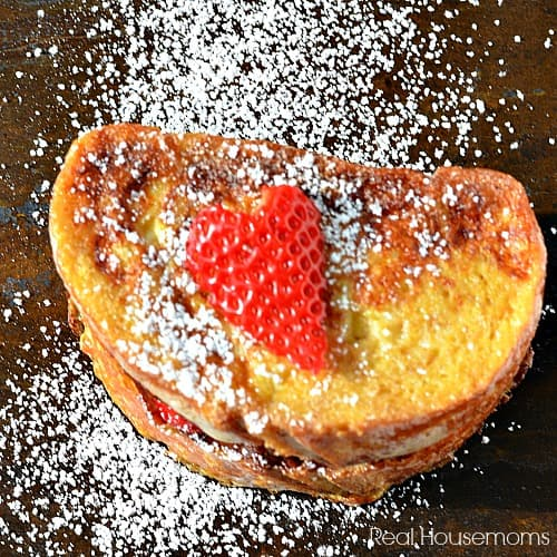 Nutella and Strawberry Stuffed French Toast_Square