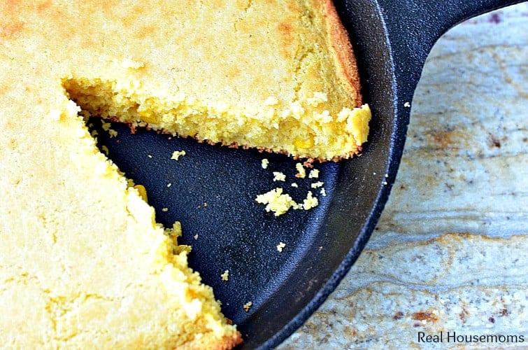 Sweet Honey Cornbread