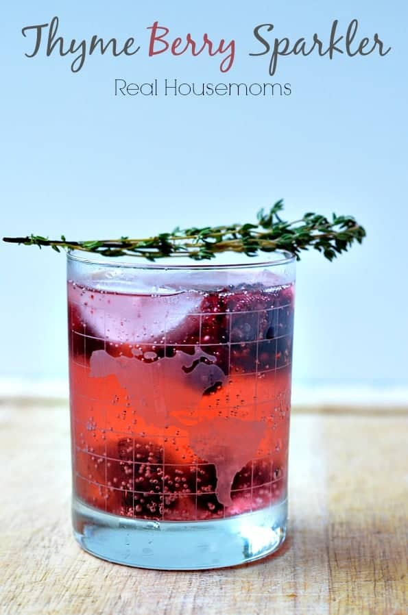 Thyme Berry Sparkler Real Housemoms