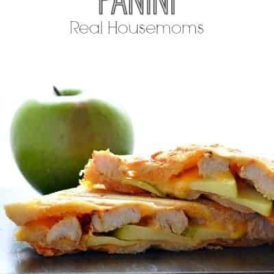 Cheddar, Apple & Chicken Panini