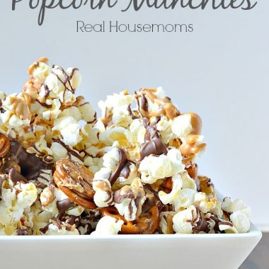 Chubchubby hubby popcorn munchies in a bowlby Hubby Popcorn Munchies Real Housemoms