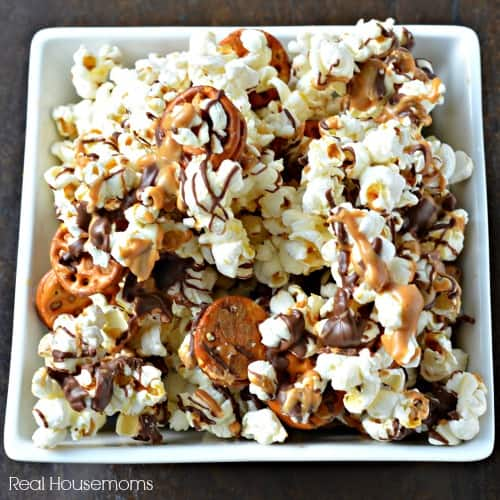 chubby hubby popcorn munchies in a bowl