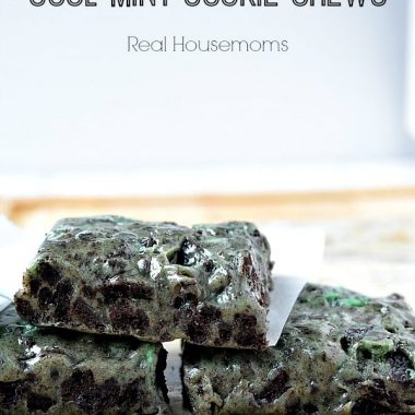 No-Bake Cool Mint Cookie Chews