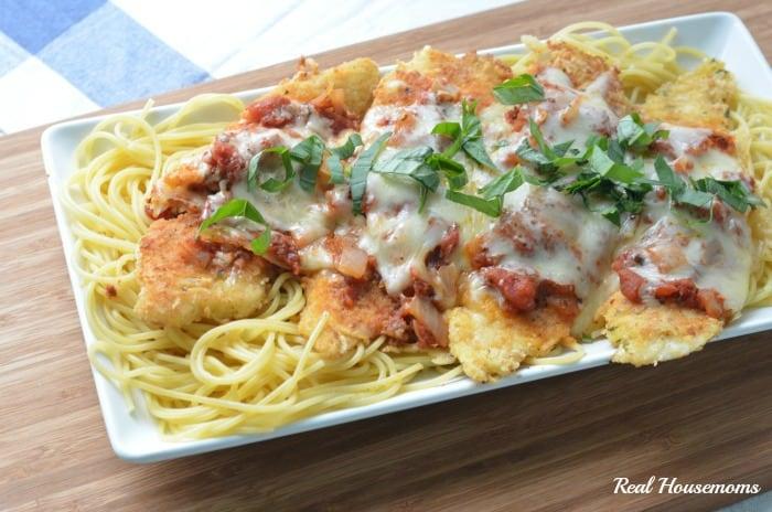 Tilapia Parmesan