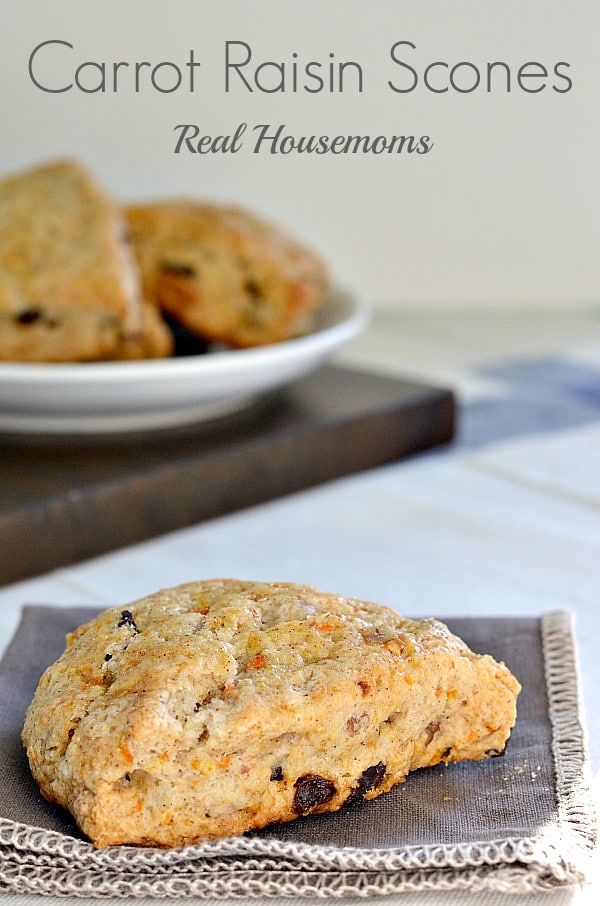 Carrot Raisin Scones | Real Housemoms