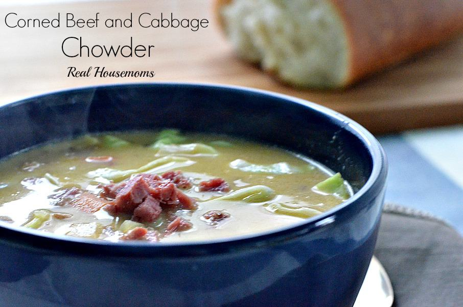 Corned Beef and Cabbage Chowder ⋆ Real Housemoms