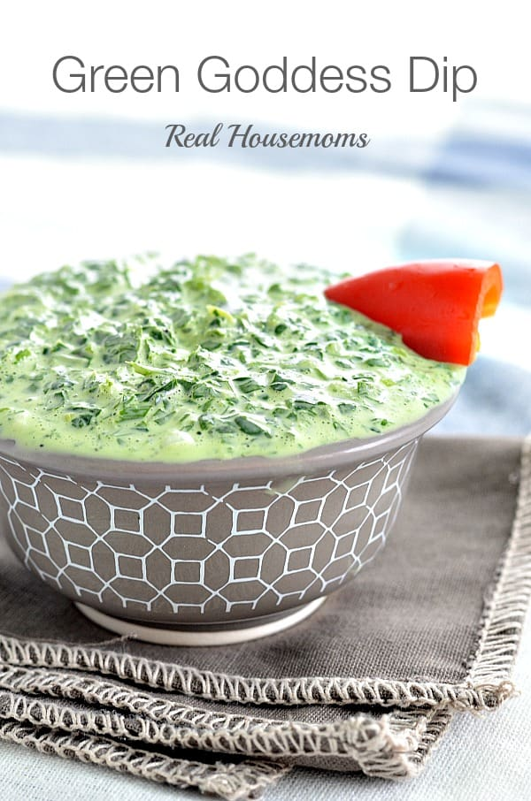 Green Goddess Dip | Real Housemoms