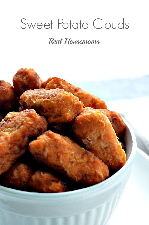 Sweet Potato Clouds | Real Housemoms
