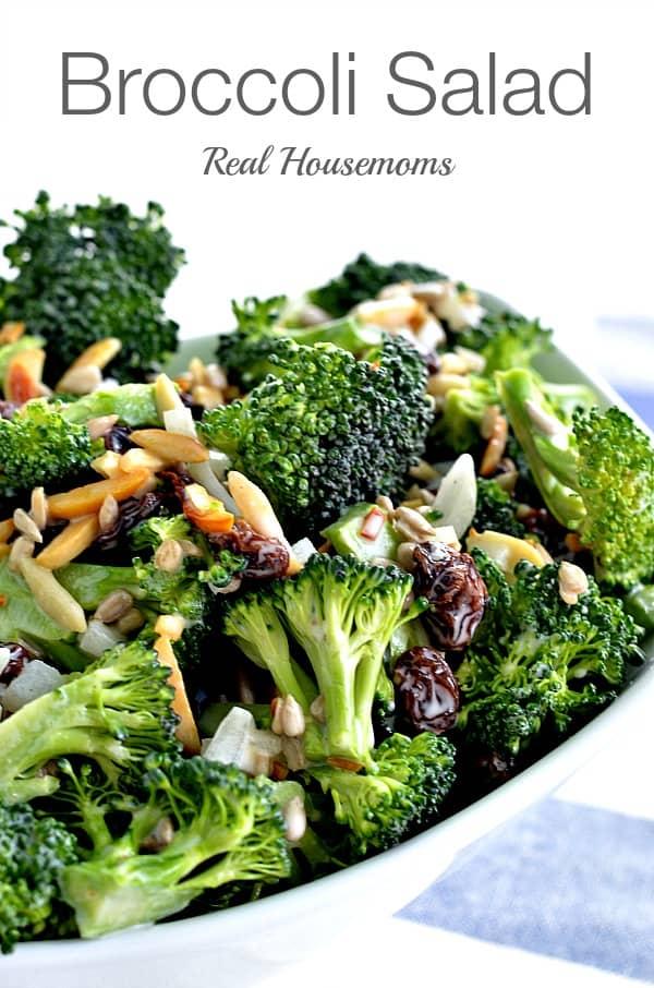Broccoli Salad ⋆ Real Housemoms