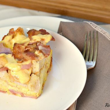 Eggs Benedict Casserole_Real Housemoms