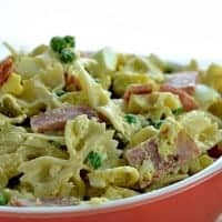 Ham and Cheese Pasta Salad | Real Housemoms