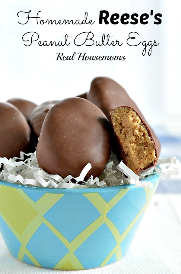 Homemade Reese S Peanut Butter Eggs With Video Real Housemoms