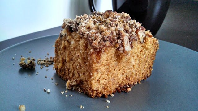 Pecan-Chocolate Espresso Coffee Cake