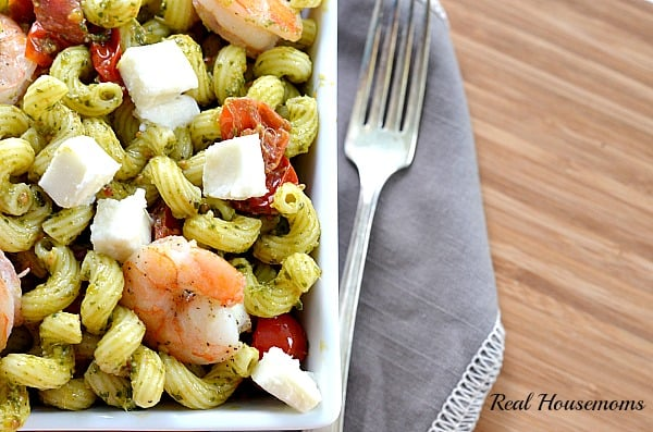 Quick Pesto and Shrimp Pasta_Post