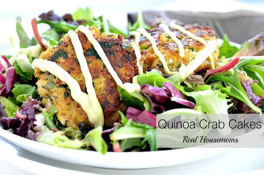 Quinoa Crab Cakes Real Housemoms