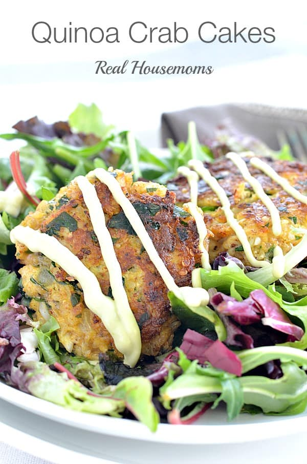 Quinoa Crab Cakes_Real housemoms