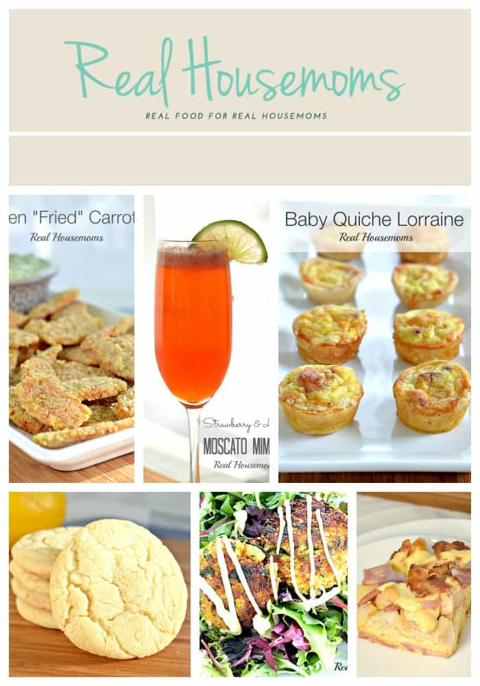 collage of various food and drink
