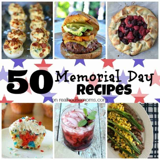 50 Memorial Day Recipes SQUARE