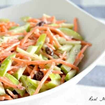 Carrot and Apple Slaw #BrunchWeek