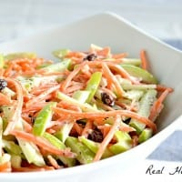 Carrot and Apple Slaw | Real Housemoms