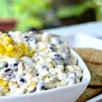 Cheesy Roasted Corn and Black Bean Dip_Feature