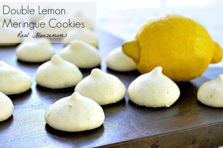 Double Lemon Meringue Cookies - Real Housemoms