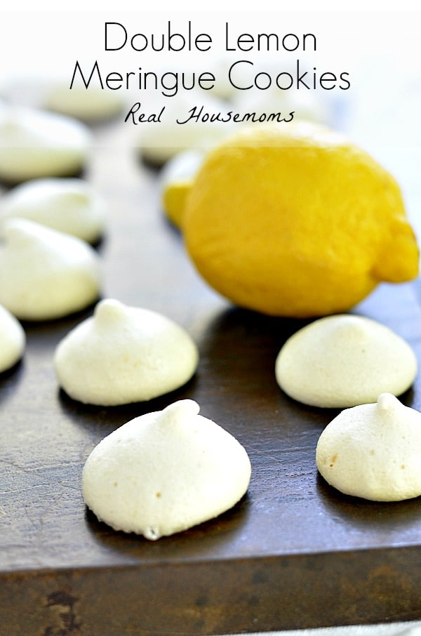 Double Lemon Meringue Cookies | Real Housemoms