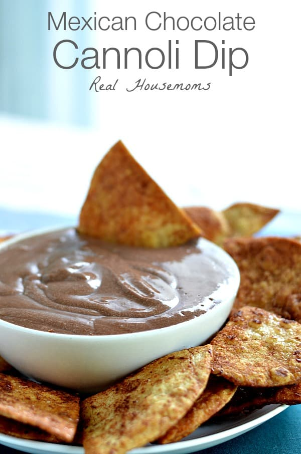 Mexican Chocolate Cannoli Dip | Real Housemoms