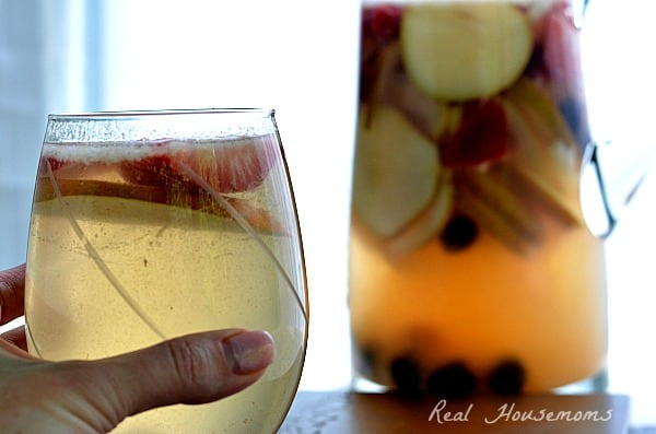Pear and Berries Sangria | Real Housemoms