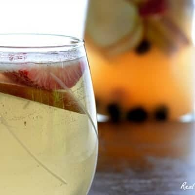Pear and Berries Sangria