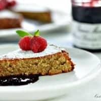 Simple Almond Cake   Real Housemoms