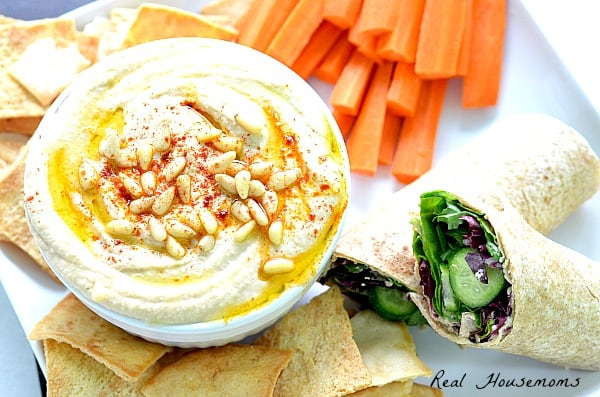 Super Creamy Hummus | Real Housemoms