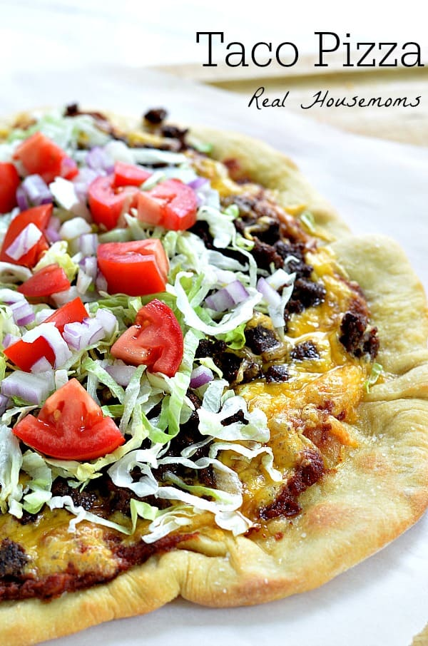 Taco Pizza | Real Housemoms