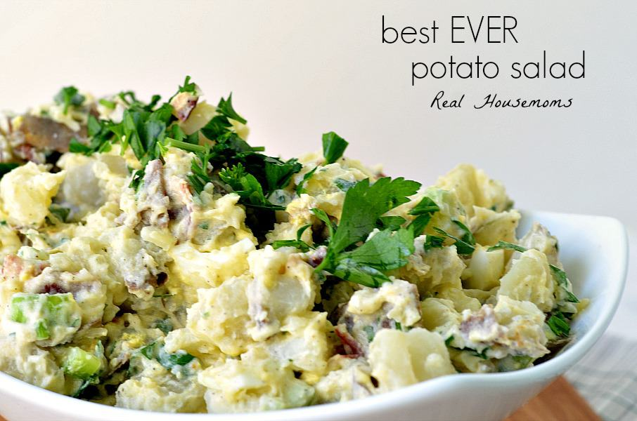 Potato Salad With Bacon And Parsley Recipe