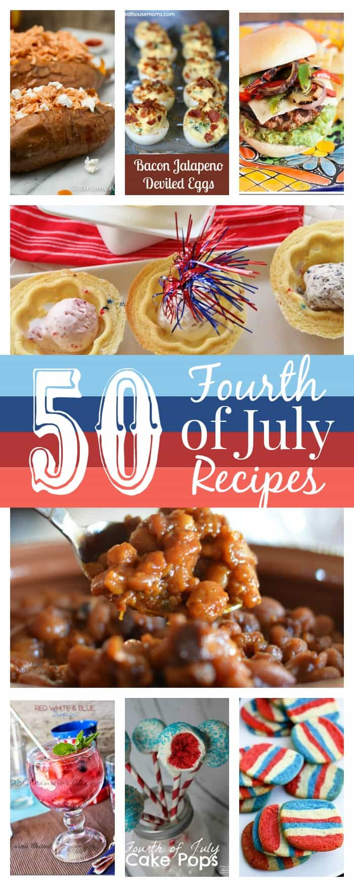 ~50 Fourth of July Recipes