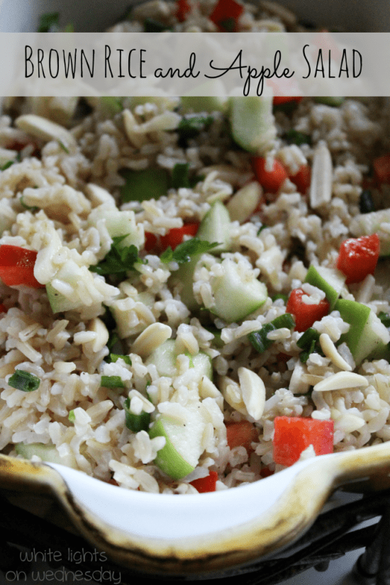 Brown Rice and Apple Salad