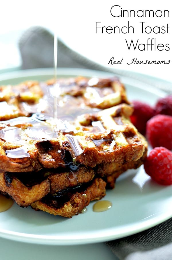 Cinnamon French Toast Waffles | Real Housemoms