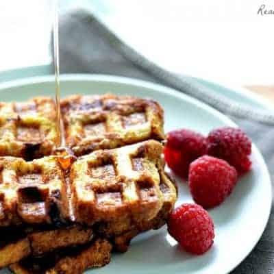 Cinnamon French Toast Waffles