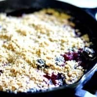 Classic Blackberry Crumble | Real Housemoms