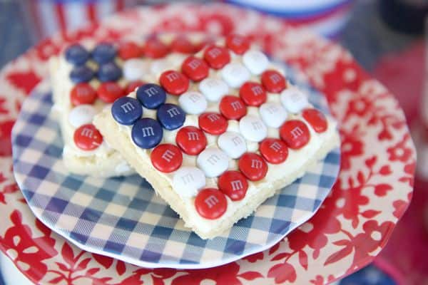 Easy American Flag Cookies