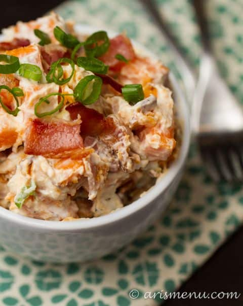 Loaded Sweet Potato Salad