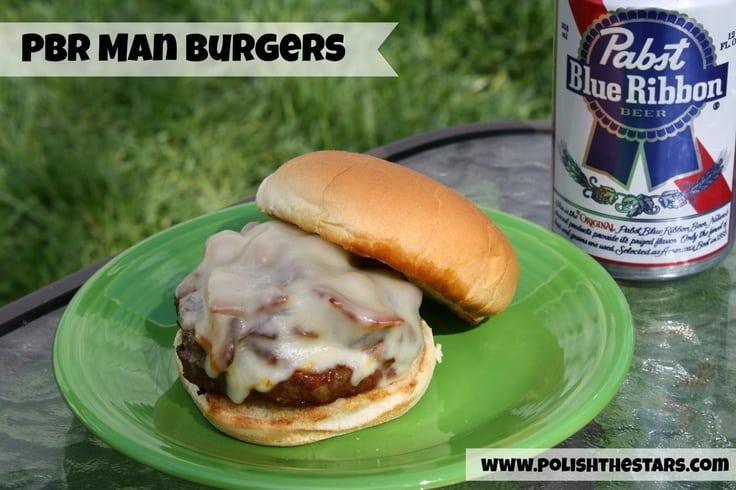 PBR Man Burgers