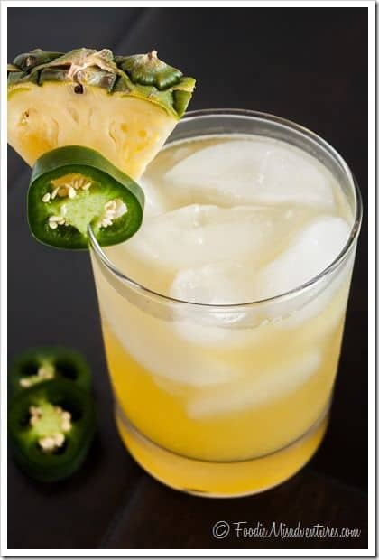Pineapple Jalapeno Margaritas