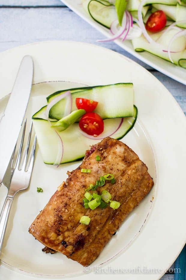 Soy-Sesame Grilled Fish