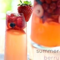 Summer Berry Sangria | Real Housemoms