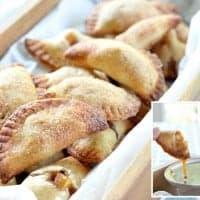 Apple Pie BItes with homemade caramel sauce   Real Housemoms