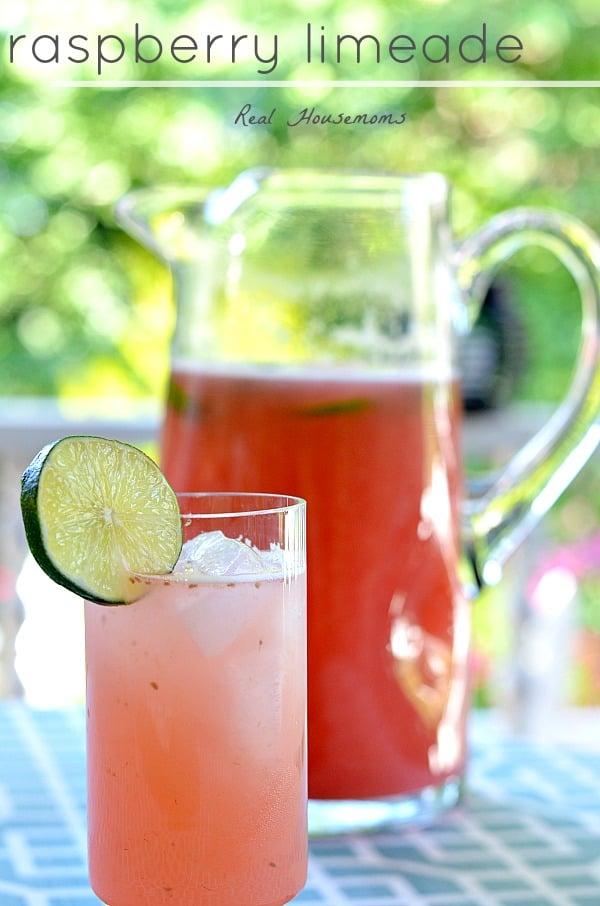 Raspberry Limeade | Real Housemoms
